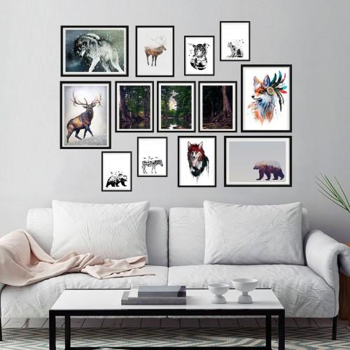 Forest Çerçeveli Poster Seti