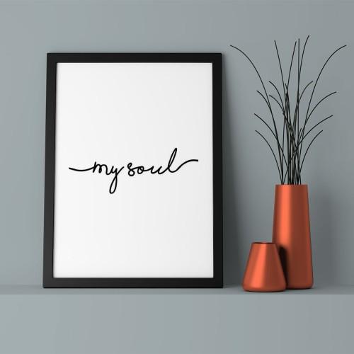 My Soul Çerçeveli Poster