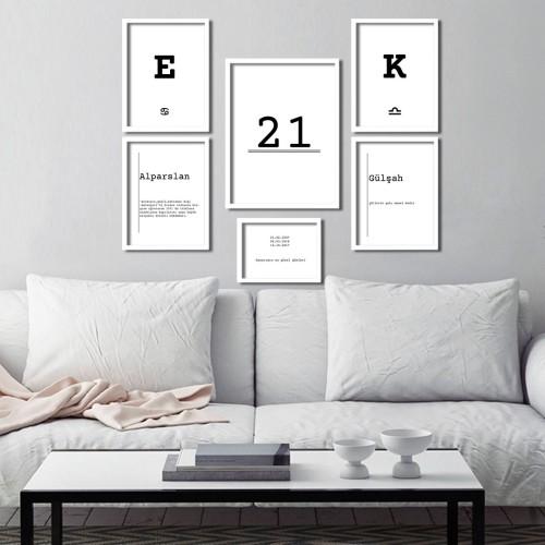 kişiye özel set Poster Seti
