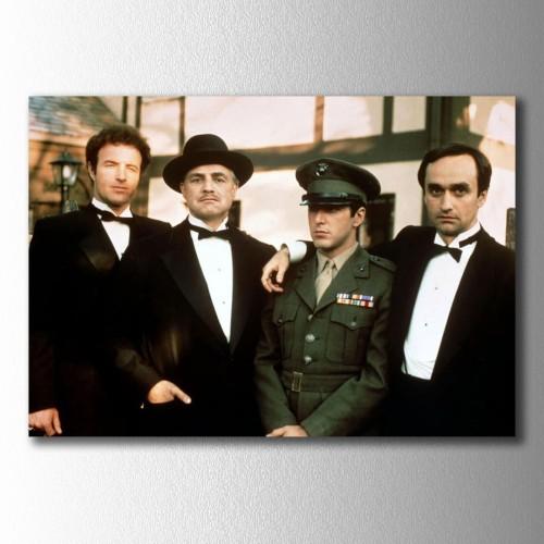 Godfather Don Corleone Grup Kanvas Tablo