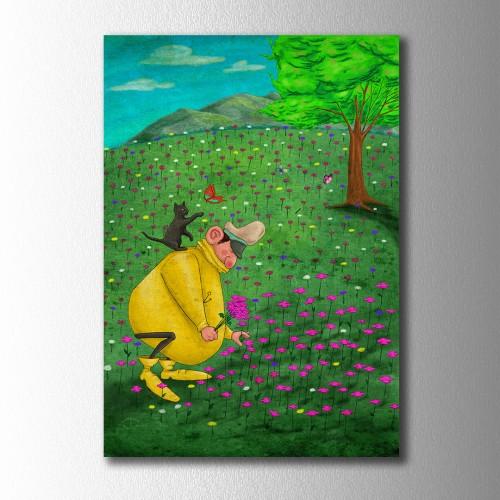 Sarı Reis Bahar Vakti Kanvas Tablo
