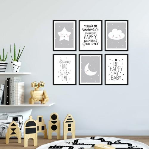 My Sunshine Çerçeveli Poster Seti