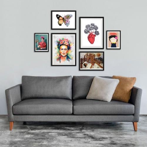 Frida Kahlo Poster Seti