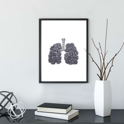 Çiğer Çerçeveli Poster