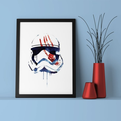 Darth Vader Cizim Çerçeveli Poster