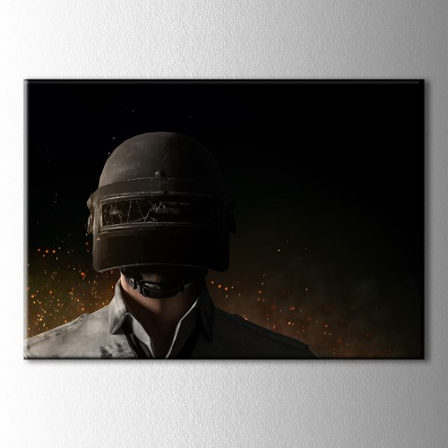 Kask3 Pubg Kanvas Tablo