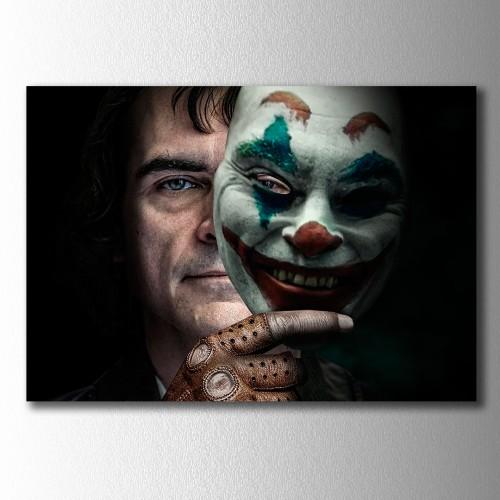 Joker ve Maskesi Kanvas Tablo