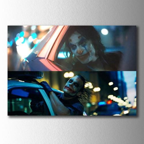 Jokerler Arabada Kanvas Tablo