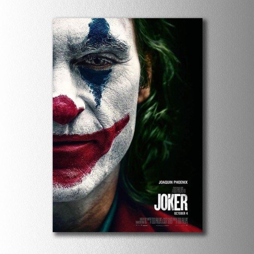 Yeni Joker Poster Kanvas Tablo