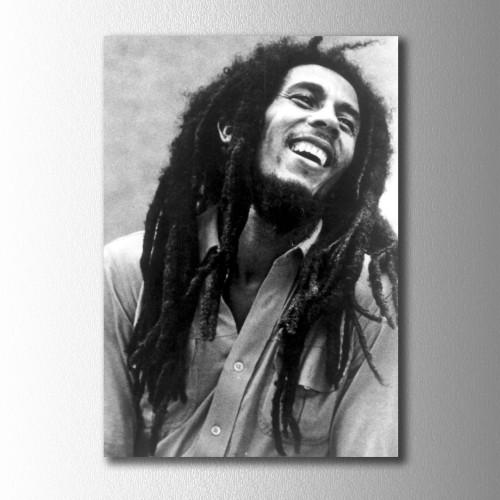Bob Marley Poster Kanvas Tablo