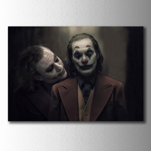 Eski ve Yeni Joker Kanvas Tablo