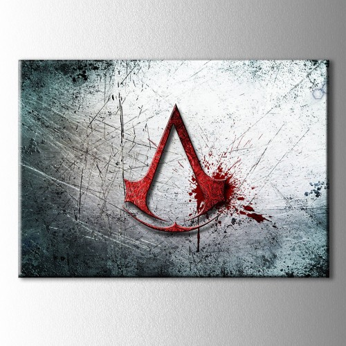 Assassin's Creed Logo Kanvas Tablo