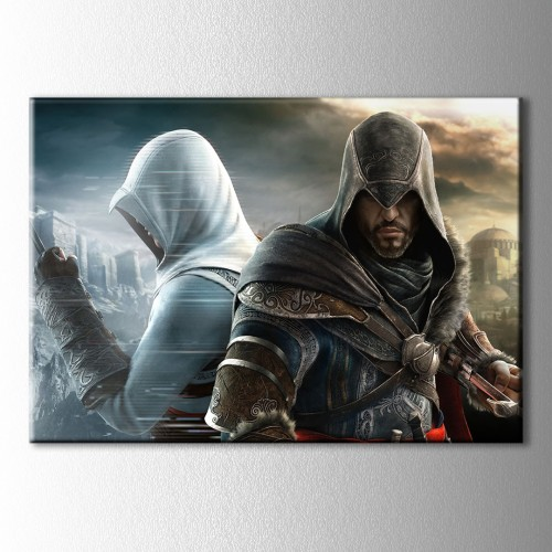 Assassins Creed Yansıma Kanvas Tablo