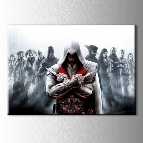 Assassins Creed 3 Kanvas Tablo