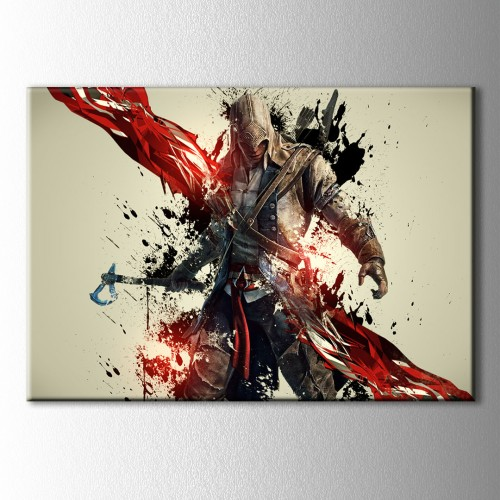 Assassin's Creed 3 Kanvas Tablo
