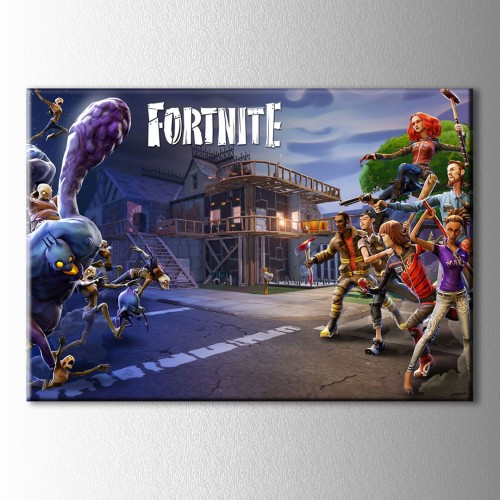 Fortnite  Kanvas Tablo