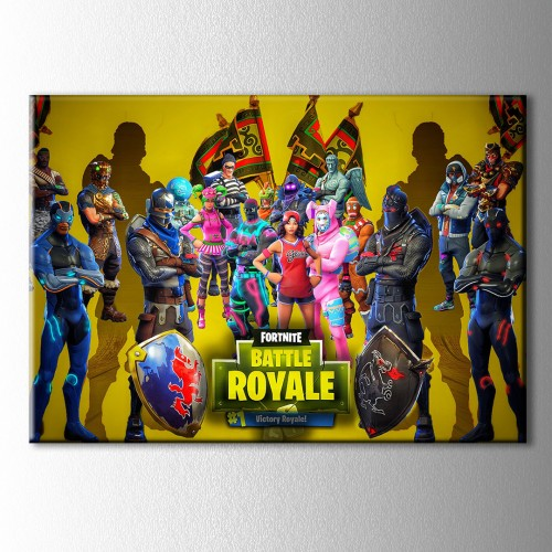 Fortnite Battle Royale Kanvas Tablo