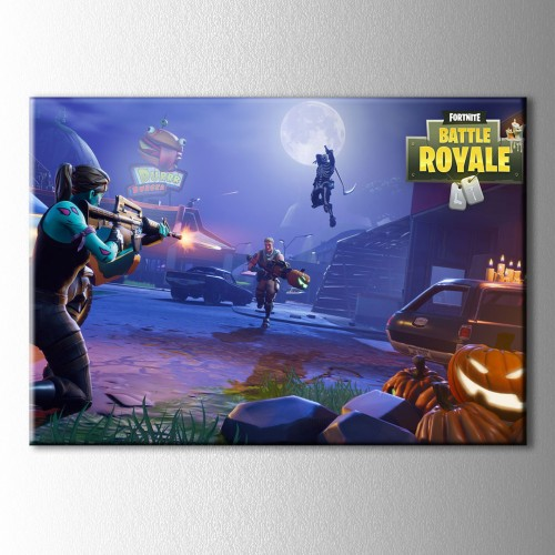 Fortnite Battle  Kanvas Tablo