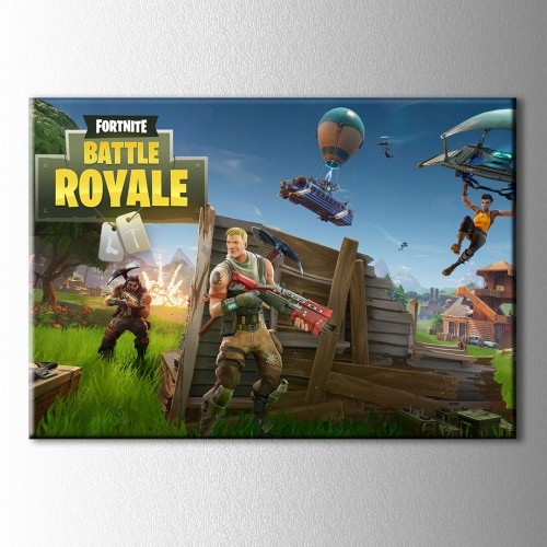 Fortnite BattleRoyale Kanvas Tablo