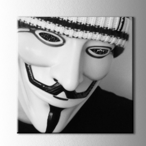 Anonymous Kanvas Tablo