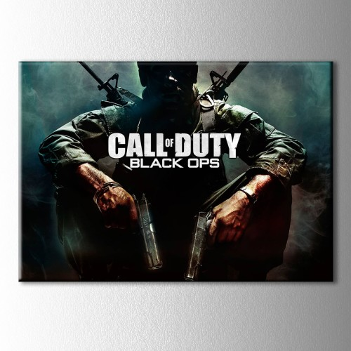 Cod Black Ops Kanvas Tablo