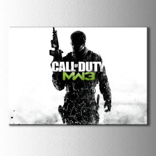 Cod Mw3 Kanvas Tablo