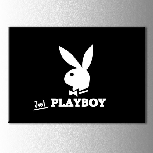 Just Playboy Kanvas Tablo