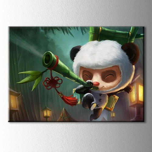Lol Teemo Kanvas Tablo
