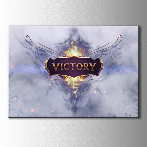 Victory Lol Kanvas Tablo