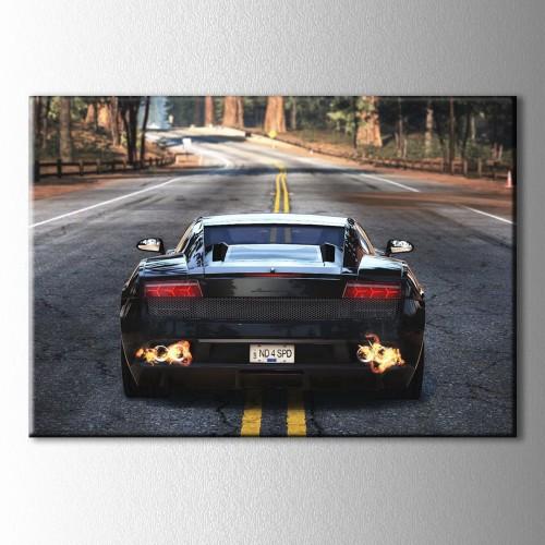 Nfs Lamborghini Kanvas Tablo
