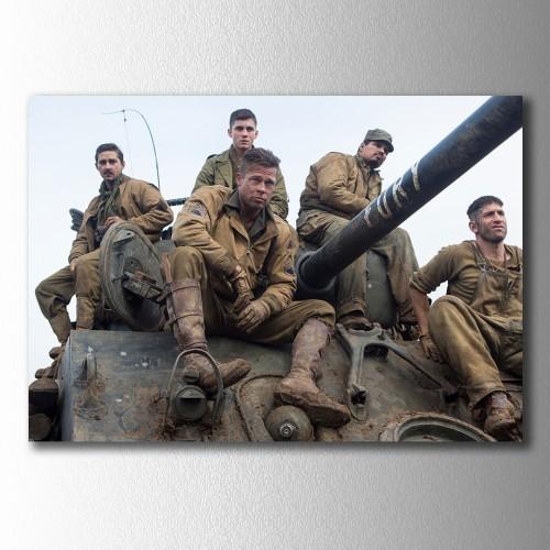 Fury Tank Takımı  Kanvas Tablo