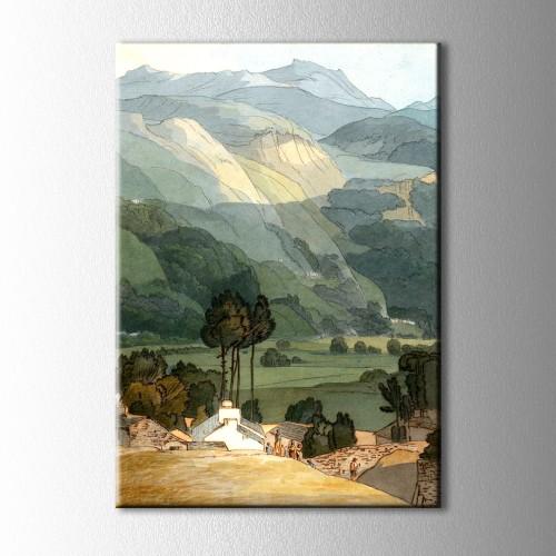 Francis Towne Ambleside 1786 Kanvas Tablo
