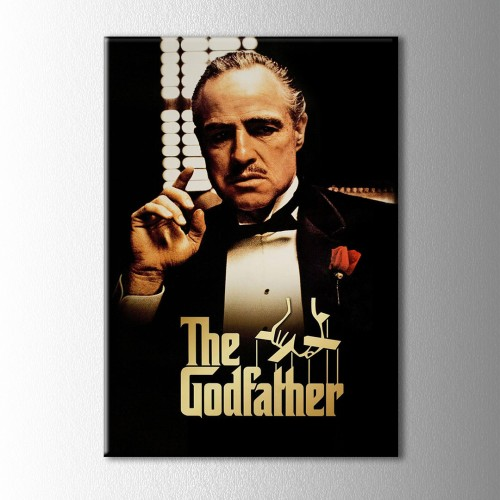 The Godfather Kanvas Tablo