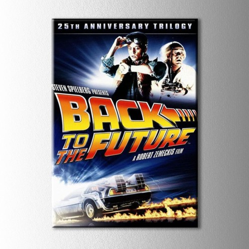 Back To The Future Kanvas Tablo