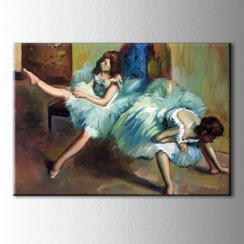 Before the Ballet Kanvas Tablo