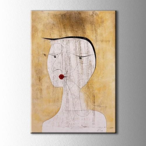 Paul Klee Abstract Kanvas Tablo