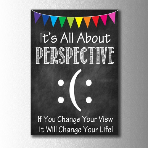 All About Perspective Kanvas Tablo