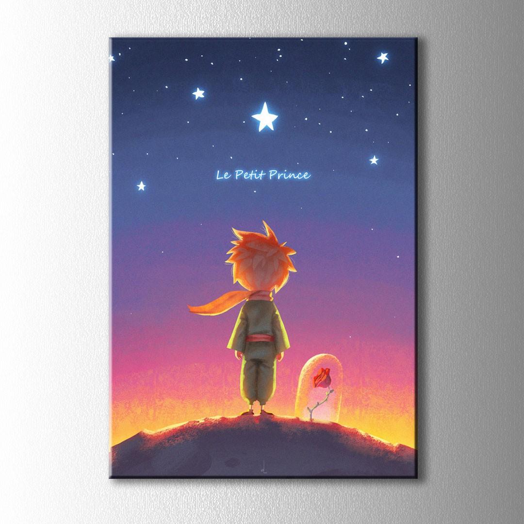 Kucuk Prens Le Petit Kanvas Tablo
