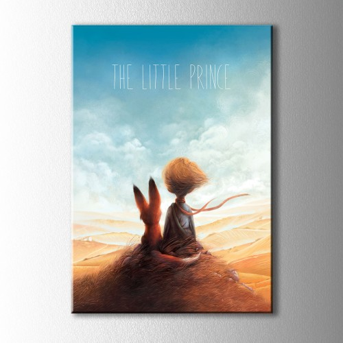 The Little Prince Gece Kanvas Tablo