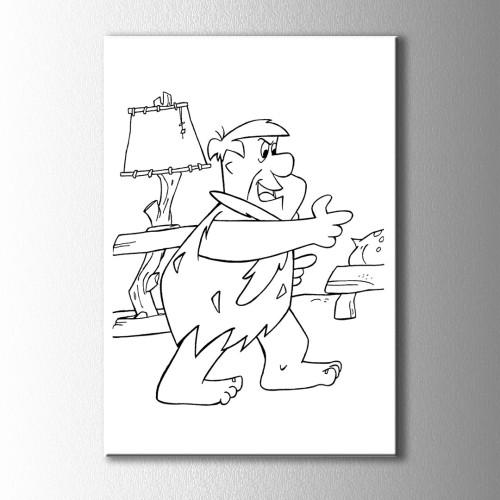 Fred Çakmaktaş Boyama Kanvas Tablo
