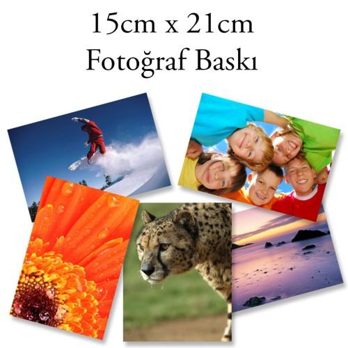 15x21 Fotoğraf Baskı 6 Adet