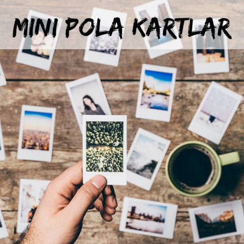 Mini Polaroid Kartlar