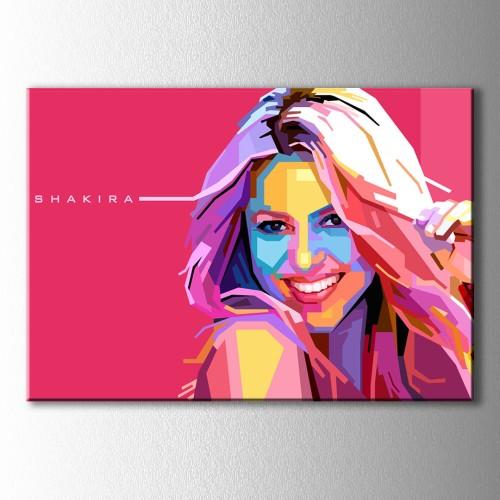 Popart Shakira Kanvas Tablo