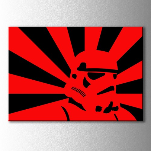 Popart Star Wars Clon Kanvas Tablo