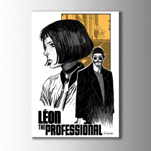 Retro Leon  Kanvas Tablo