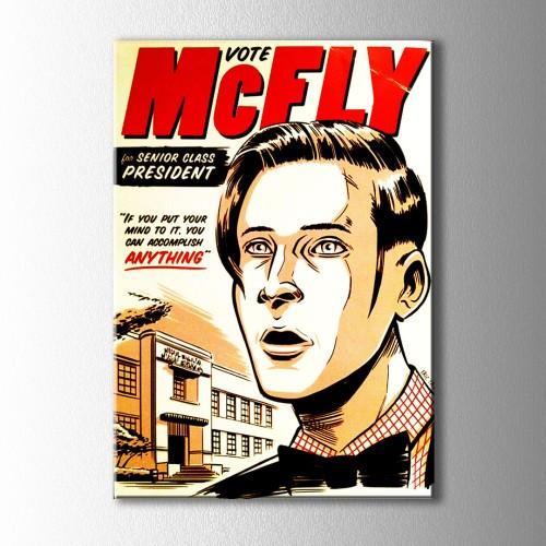 Retro McFLY Kanvas Tablo