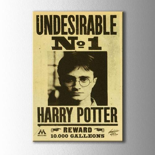 Harry Potter Afiş Kanvas Tablo