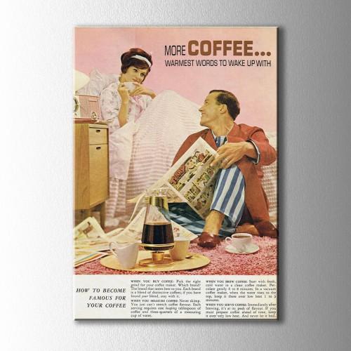 Vintage Gazete Küpürü Kanvas Tablo