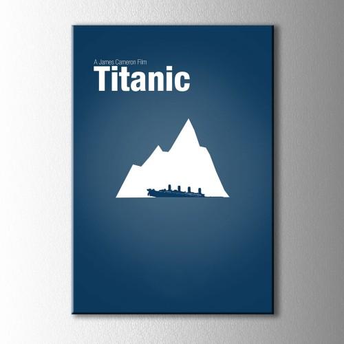Minimal Titanic Kanvas Tablo