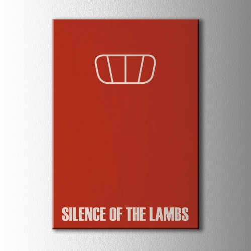 Minimal Slience Of The Lamps Kanvas Tablo